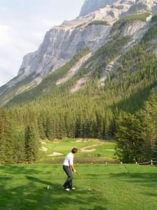 Banff Springs 4th Hole - Devil's Cauldron