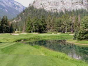 Banff Springs 10th hole